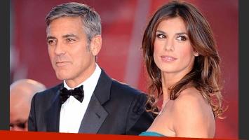 Clooney y Elisabetta Canalis anunciaron la ruptura con un comunicado. (Foto: Web).