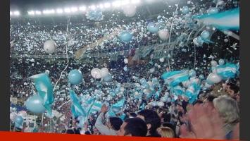 La hinchada argentina, firme junto a la Selección Nacional. (Foto: Web)