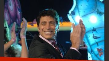 Nicolás Repetto, en la pantalla de Telefé. (Foto: prensa Telefe)