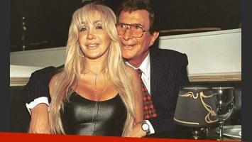 Rímolo junto a Silvio Soldán. Aquellos buenos viejos tiempos. (Foto: Web)