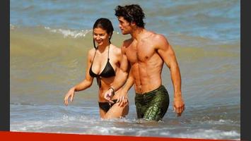 Marcela y Fernando con planes de casamiento para noviembre (Foto: revista Gente)