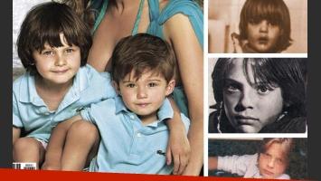 Los nuevas fotografías de los hijos de Luismi permiten ver el parecido con su padre (Foto: Web).