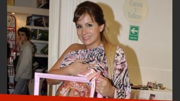 Vives había celebrado su baby shower en el mes de junio (Foto: Jennifer Rubio).
