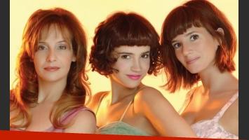 Gabriela Toscano, Celeste Cid y Griselda Siciliani. (Foto: Pol-Ka)