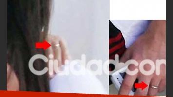 Antonella Roccuzzzo y Lionel Messi usan anillos de compromiso. (Foto: Southern Press)