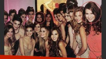 Zaira Nara y Nina Francisca coincidieron en el evento de Natalia Antolin. (Foto: Revista Caras).