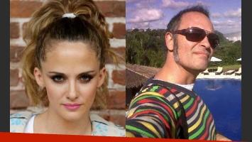 La ex de Cerati y el periodista de espectáculos, enfrentadísimos (Foto: Web).