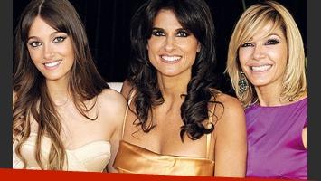 Make up impecable para Oriana, Gaby y Cathy. (Foto: Gente)