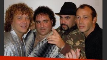 Una foto actual del grupo: a la derecha Carlos Mario Lacunza, acusado de homicidio. (Foto: Web)