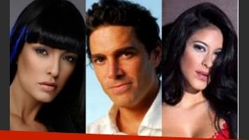 Andrea Estévez, Matías Alé y Celeste Muriega, un triángulo amoroso y escandaloso (Foto: Web).