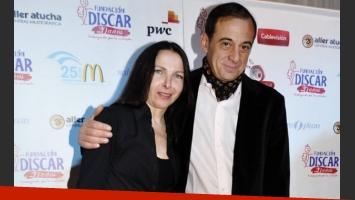 Alejandra Darín y Alejandro Awada en la cena de DISCAR (Foto: Jennifer Rubio).