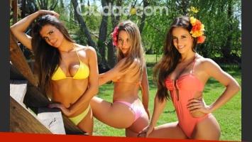 Las fotos más sensuales de las bailarinas de ShowMatch. (Foto: Maxi Didari - Ciudad.com)