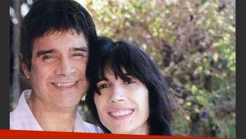 Claudio María Domínguez e Ileana. (Foto: revista Gente)