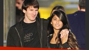 Lionel Messi y Antonella Roccuzzo. (Foto: Gente)