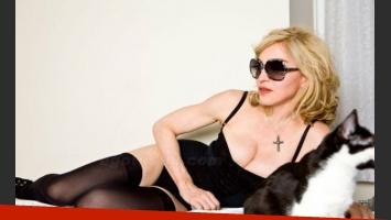 Las imágenes de Madonna sin photoshop. (Foto: Web)