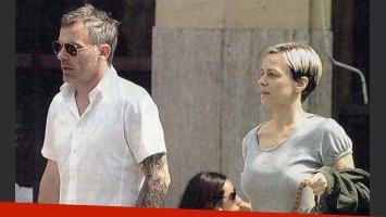 Caramelito pasea con su marido y su nuevo look. (Foto: revista Pronto)