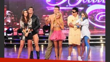 Los sentenciados del strip dance en Bailando 2011. (Foto: Ideas)
