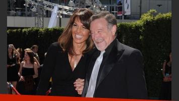 Robin Williams y su flamante (y tercera) esposa, Susan Schneider. (Foto: Web)
