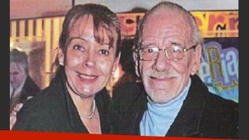 El dolor de Nancy Herrera por la muerte de su amigo, Alberto Anchart. (Foto:Web)