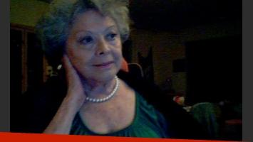 Una consagrada cantante argentina confesó que se prostituye a los 80 años. (Foto Web)
