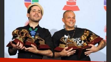 Calle 13, los grandes ganadores de Premios Grammy Latino 2011. (Foto: Clarín)