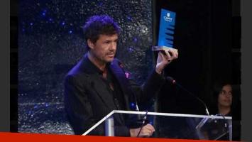 Marcelo Tinelli, premiado por Capit en la temporada 2010. (Foto: capit.org.ar)