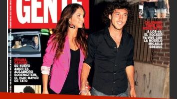 Zaira y Pico, de la mano. Romance confirmado. (Foto: revista Gente)