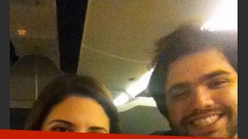 Alessandra y Bob, de regreso a Puerto Rico tras su paso por Buenos Aires.