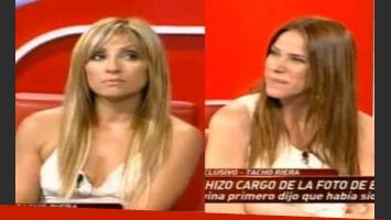 Marcela Tauro y Marcela Baños hablaron de la pelea que tuvieron la semana pasada. (Foto: Captura TV)
