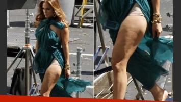 La foto (sin Photoshop) que Jennifer Lopez quisiera quemar. (Foto: Web)