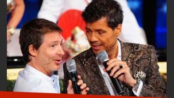 Adrián Suar y Marcelo Tinelli. (Foto: Ideas del Sur)