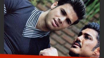 Ricardo Fort y Julio Coronel se muestran muy juntos (Foto: Revista Caras).