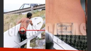 Mercedes Sarrabayrouse habló del tatuaje de amor que su ex se hizo por ella. (Foto: Revista Caras)