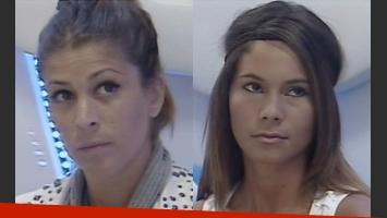 Florencia y Noelia, nominadas en GH 2012 (Foto: Captura de tv).