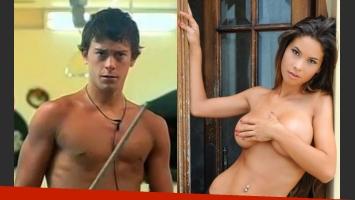 Nazareno Bellini y Noelia Ríos ya está dentro de la casa de al lado de Gran Hermano 2012. (Foto: Web)