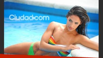 Yanina Iglesias, la última eliminada de Soñando por Bailar 2. (Foto: Maxi Didari - Ciudad.com)