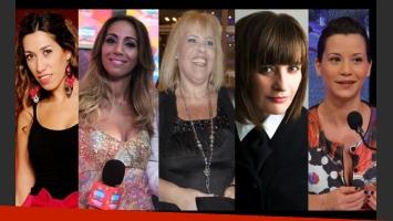 Luciana Elbusto, Paula Varela, Laura Ubfal, Teresita Ferrari y Jowi Campobassi.