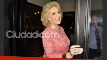 Mirtha, la invencible. (Foto: Jennifer Rubio)