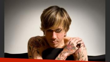 Roberto Piazza y sus tatuajes. (Foto: Gentileza Eduardo Costantini/Prensa Leticia Gourdin)