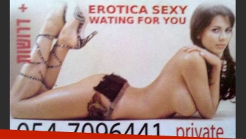 "Karina Jelinek, indignada porque la trataron de ""prostituta"" en Israel. (Foto: Diario Crónica)"