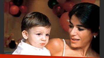Luca y Zulemita, que espera su segundo hijo
