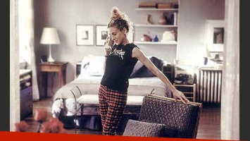 Carrie Bradshaw en su departamento de Nueva York. (Foto: Web)