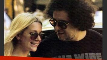 Andrés Calamaro y Micaela Breque: ¿se casan en secreto? (Foto: Web)