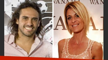 Mariano Zabaleta y Eugenia Tobal, ¿juntos? (foto: Web)