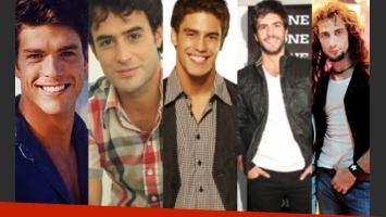 Estéban Pérez, Esteban Meloni, Juan Manuel Guilera,  Marco Antonio Caponi y Luciano Cáceres. (Fotos: Web)