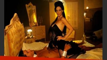 Leticia Brédice en el rol de Darlyng, una porno star, para Condicionados (Foto: Pol-ka)
