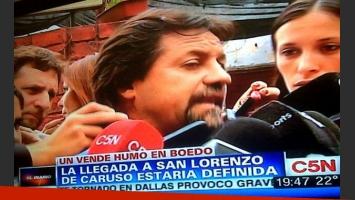 Ricardo Caruso Lombardi, tildado de