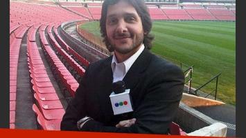 Germán Paoloski expresó su malestar por el horario de Diario de medianoche. (Foto: web)