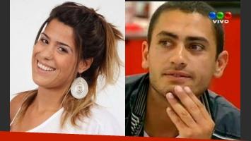 Ailín afirma que estuvo con Mario, su ex compañero de GH 2012. (Fotos: Web y captura Telefe)