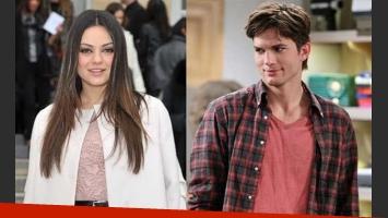 Ashton Kutcher y Mila Kunis se conocieron en That 70 s show.
